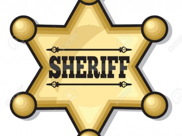 sheriff-badge-Stock-Photo